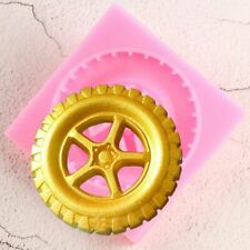 Tyre Sugarcraft Silicone Mould Fondant Candy Clay Molds Cake Decorating Tools