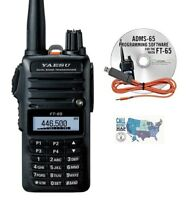 Yaesu FT-65R VHF/UHF Dualband HT, w/ RT Systems Programming Software/Cable Kit