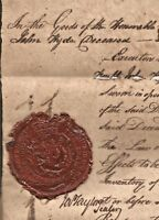 1796R Chambers swear King Gr Britain France Ireland order Adm Sir J Hyde's Goods