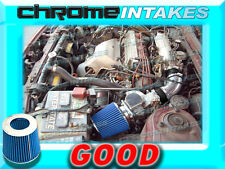 BLACK BLUE 86-89 TOYOTA CELICA ST/GT/GTS 2.0 2.0L 4CYL AIR INTAKE INDUCTION KIT