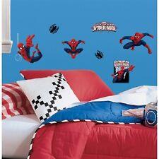 Amazing Spiderman Wall Decals, Appliques Kid's Boys Bedroom Spider Man