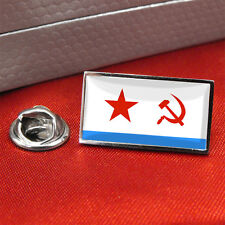 Soviet Naval Ensign Flag Lapel Pin Badge / Tie Pint