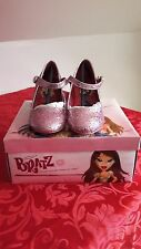 BRATS PINK SPARKLE SHOES SIZE 1 and 2 NEW IN BOX u22134021/50