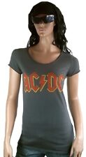 Amplified UFFICIALE AC / ACDC DC logo rock star vintage designer VIP T-shirt G.