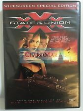 ☀️ XXX: State of the Union DVD Special Edition WS English French Audio MINT R1