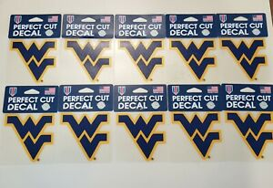 One Size WinCraft NCAA Navy Decal4x4 Perfect Cut Color Decal Team Colors