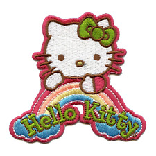 Hello Kitty Dream Rainbow Iron On Embroidered Patch