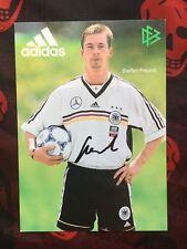Autogramm STEFFEN FREUND-DFB-AK-Deutschland-Ex-Stahl Brandenburg/Schalke 04/BVB