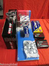 Jeep 4.0 Engine Rebuild Kit Pistons+MOLY Rings+Timing+Oil Pump+Bearings 99*-06