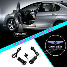 2x For Genesis Coupe Logo Car Door Courtesy Laser Projector CREE LED Lights