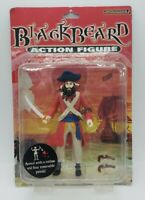 "Accoutrements 6"" Blackbeard Rare Action Figure 2004 Damage Box Brand New"