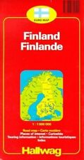 Finland: With Touring Information by Rand McNally (Sheet map, folded, 1999)