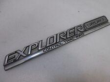 "95 96 97 Ford Explorer—""SPORT Control Trac AWD"" Rear Gate Nameplate Emblem"
