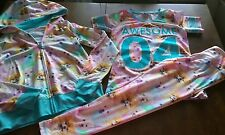 Justice size 8/ 3 pc outfit/pants/hooded jacket/shirt/ dogs/Rare/HtF/BTS
