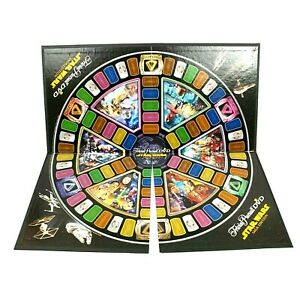 Trivial Pursuit DVD Star Wars Saga Edition Gameboard Only Replacement Game Parts