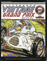 2010 PVGP Pittsburgh Vintage Grand Prix Race Program