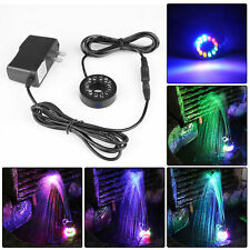 "Fountain Ring Lights Colored Changing for Submersible Water Pump 0.6"" Diameter"