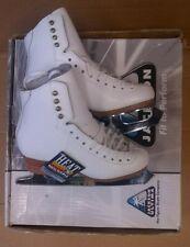 Jackson Competitor Leather Figure Ice Skate Ladies Women Size 4 B (Usa Sneaker 5