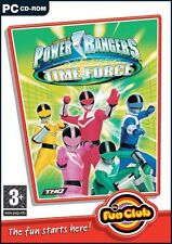 PC Fun Club: Power Rangers Time Force (PC CD) Brand New Sealed
