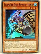 Yu-Gi-Oh - 1x #044 Legendäre Sechs Samurai - Shinai - SPWA - Spirit Warriors