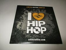 I LOVE HIP HOP SELECT O HITS CD SAMPLER Limited Edition RSD 2013 15 Tracks NEW