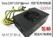 Mining Machine Power Supply 1600W For Bitcoin Miner Antminer A4 A6 A7 E9 S7 S9