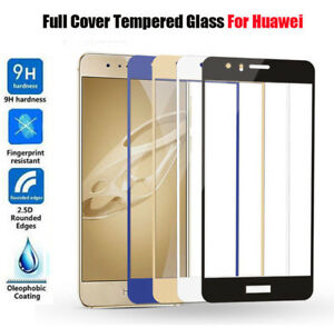 For Huawei P8 P9 P10 Lite Phone Accessory Full Tempered Glass Screen Protector