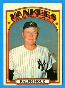 1972 Topps #533 RALPH HOUK (vg-) New York Yankees