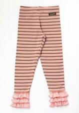 Matilda Jane Taffy Pull Leggings Girls Size 2 Happy & Free New Pink Stripe