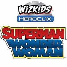 Dc Heroclix superman/wonder Woman 1 - 48 Juego Completo (47 cifras) Missing # 041