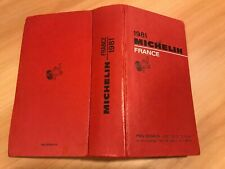 Guide Michelin France 1981