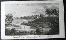 LÜBECK. Seltener Kupferstich von RADL / RASMÄSLER, 1822