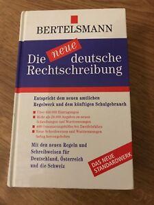 Die neue deutsche Rechtschreibung von Bertelsmann