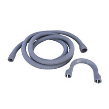 Universal Washing Machine & Dishwasher Drain Hose Waste Pipe 1.6M 22 / 29mm Bore