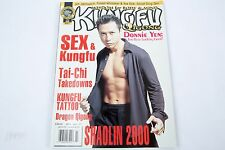 Kung Fu Magazine DONNIE YEN July 2000 SEX & Kungfu Tai-Chi IP Man Rouge One XXX