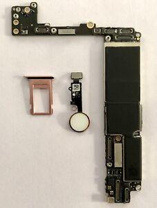 Placa Base iPhone 7 Plus Rose Gold -128Gb- Libre iCloud  (**LEER DESCRIPCIÓN)