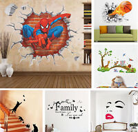 Removable Wall Stickers Mural For Kids Baby Room Bedroom Home Decor PVC DIY Art
