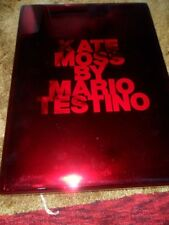 Kate Moss by Mario Testino  GIANT HARDCOVER BOOK 2010 1st ED SIGNED #321/1500 ++