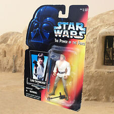 1995 STAR WARS: POTF Luke Skywalker action figure Orange Card