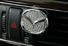 Mazda Emblem Swarovski Crystal Car Vent Air Freshener Airfresh Perfume