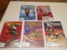 "Kitty Pryde ""Shadow & Flame"" 1,2,3,4,5.  X-Men Comics"