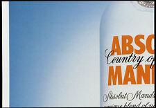 cartolina pubblicitaria PROMOCARD n.2200 ABSOLUT ARRIVAL VODKA collection n.137