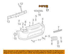 TOYOTA OEM 00-05 MR2 Spyder Rear Bumper-Decal sticker PT4131700001
