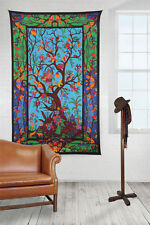 Cotton 3D Tree of Life Multicolor Tapestry Wall Hang Tablecloth Rectangle 60x90