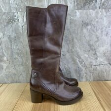 Dansko Brown Leather Boots Size 37 Womens Casual