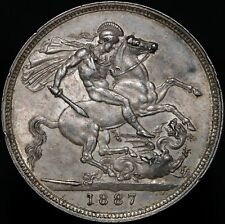 More details for 1887 | victoria crown | silver | coins | km coins