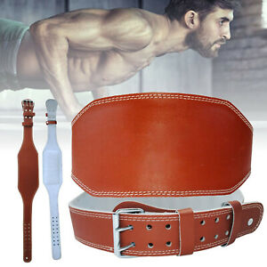 Weight Lifting Belt Dipping Back Support Fitness Bodybuilding Workout Training