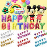 WHOLESALE  HAPPY BIRTHDAY SELF INFLATING BALLOON BANNER BUNTING PARTY DECORATION