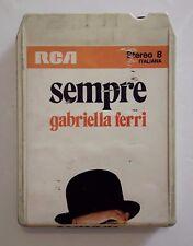Musicassetta Stereo 8 - Gabriella Ferri Sempre anno 1973