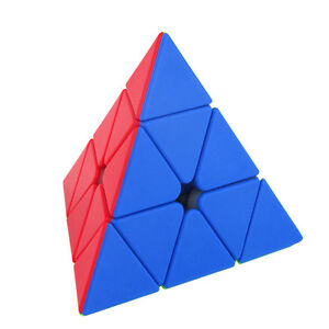 Moyu Brain Teaser Puzzle Irregular Classic Pyramid Speed Cube Enthusiasts Toy